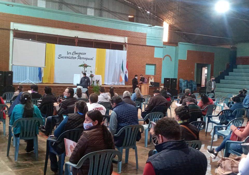 1° Congreso Eucarístico Parroquial con apoyo de la UC María Auxiliadora