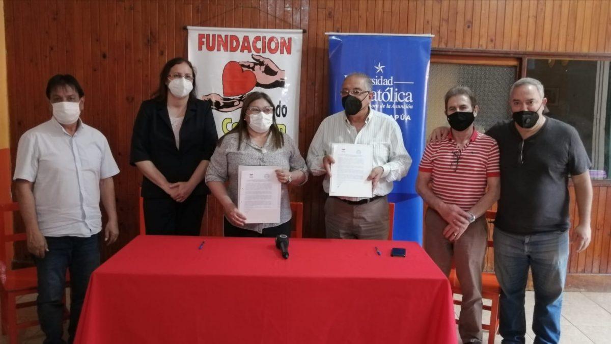 Convenio de Cooperación entre la Universidad Católica y la Fundación Sagrado Corazón